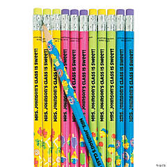 Personalized Our Class Is Sweet Pencils - 24 Pc.