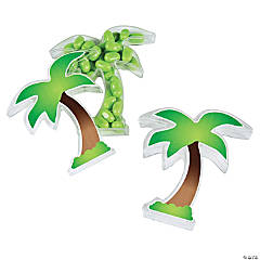 Personalized Palm Tree Favor Containers