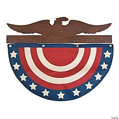 Personalized Patriotic Bunting Hanger