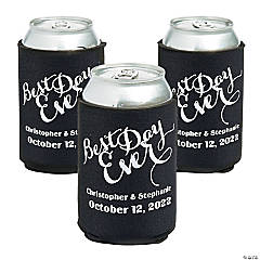 Personalized Premium Best Day Ever Can Covers