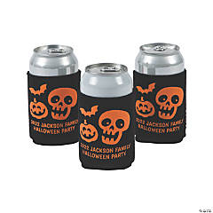 Personalized Premium Halloween Party Can Coolers