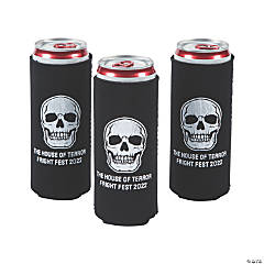 Personalized Premium Halloween Party Slim Fit Can Coolers