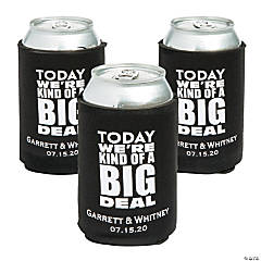 Personalized Premium Kind of a Big Deal Neoprene Can Coolers