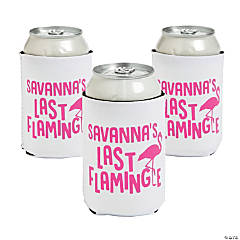Personalized Premium Neoprene Flamingle Can Covers