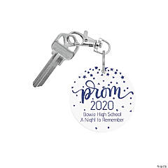 Personalized Prom Keychains