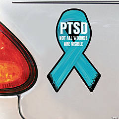 Personalized PTSD Awareness Car Magnets