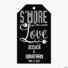 Personalized S'more Favor Tags