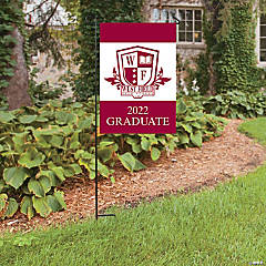 Personalized School Logo Garden Flag