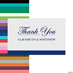 Personalized Simple Thank You Cards