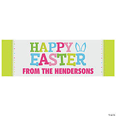 Personalized Small Easter Banner