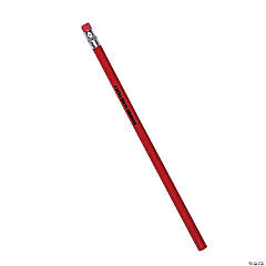 Personalized Solid Color Pencils - 24 Pc.