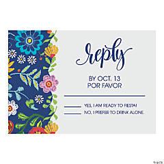 Personalized Spanish Wedding Response Cards