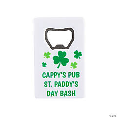 Personalized St. Patrick's Day Bottle Openers