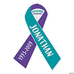 Personalized Suicide Awareness Car Magnet