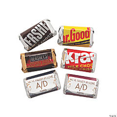 Personalized Sweet Fall Mini Candy Bar Sticker Labels