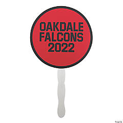 Personalized Team Spirit Hand Fans