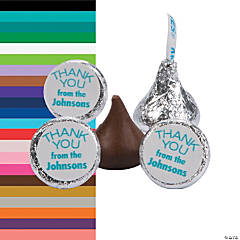 Personalized Thank You Hershey's® Kisses® Stickers