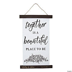 Personalized Together Is a Beautiful Place Banner
