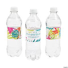 Personalized Bottle Labels | OrientalTrading com