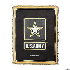 Personalized U.S. Army® Throw Blanket