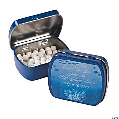 Personalized Under the Sea Mint Tins