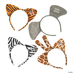 Personalized VBS Wild Adventures Animal Headbands