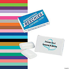 Personalized Wedding Beechies® Gum