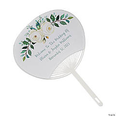 Personalized Wedding Hand Fans