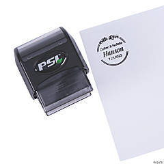 Personalized With Love Self-Inking Stamper