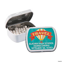 Personalized World Traveler Mint Tins