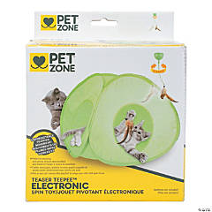 Pet Zone Electronic Spin Toy-Teaser Teepee