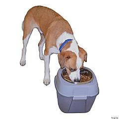 Pet Zone Store-N-Feed Single Dog Feeder-