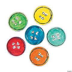 Pete the Cat™ Groovy Button Cutouts