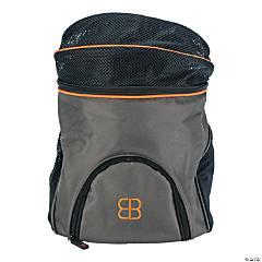 """Petego Front Pet Pack 10.5""""X12""""X13.25""""-Charcoal/Orange"""