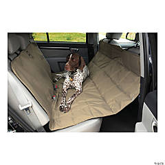 "Petego Rear Car Seat Protector Hammock 52""X64""-Tan"