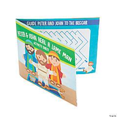 Peter & John Heal the Lame Man Fold-Up Activity Sheets