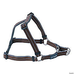 "Petface Signature Padded Harness 19.75"" To 25.625""-Small-Brown"