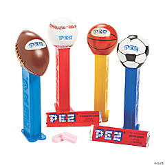 PEZ® Sports Hard Candy Dispensers Assortment