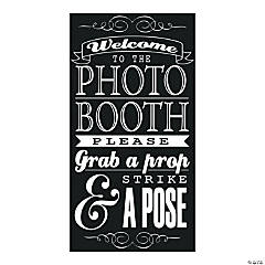 Photo Booth Instructions Sign
