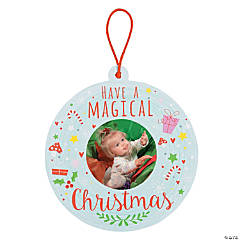 Photo Card Christmas Ornaments
