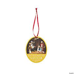 Photographic Nativity Ornaments