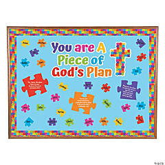 Piece of God's Plan Bulletin Board Set