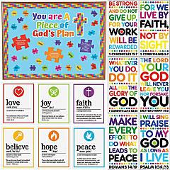 Piece of God's Plan Small Classroom Decorating Kit