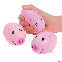 Pig Football Stress Balls