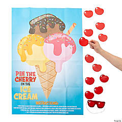 Pin the Cherry on the Ice Cream Game