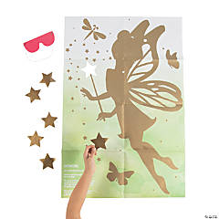 Pin the Wand on the Fairy Game