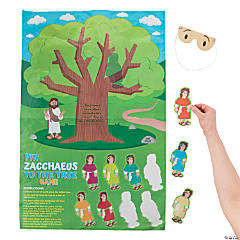 Pin Zacchaeus on the Tree Game