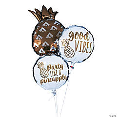 Pineapple Mylar Balloon Set