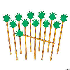 Pineapple Pencils with Eraser Toppers