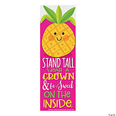 Pineapple-Scented Bookmarks